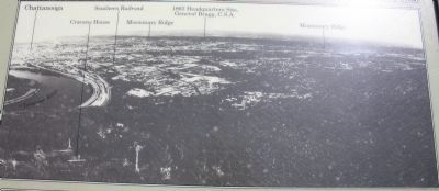 Chattanooga and Missionary Ridge Marker image. Click for full size.