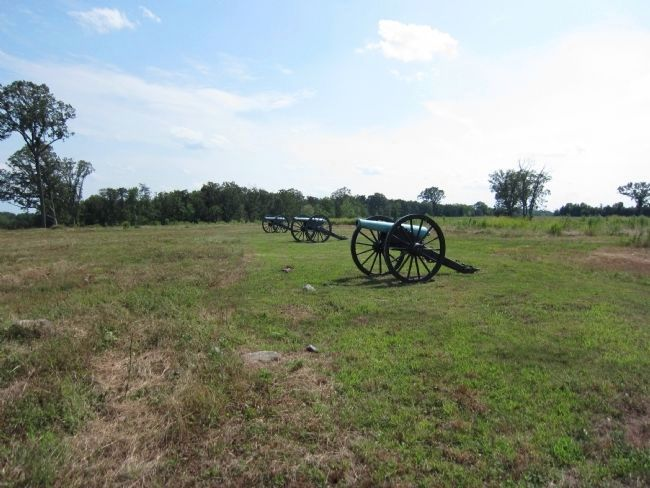 Confederate Artillery image. Click for full size.