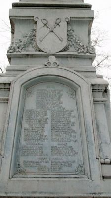 Civil and Spanish-American Wars Memorial image. Click for full size.