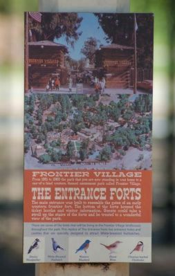 Frontier Village Marker image. Click for full size.