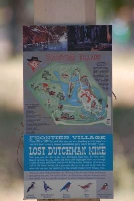 Lost Dutchman Mine Marker image. Click for full size.