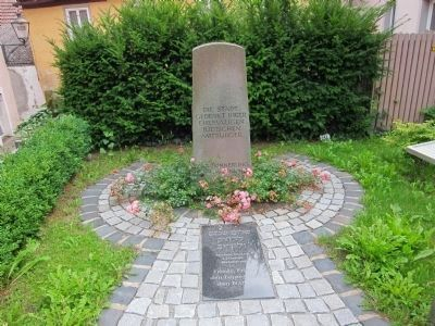 Memorial for the Jews of Gerolzhofen image. Click for full size.