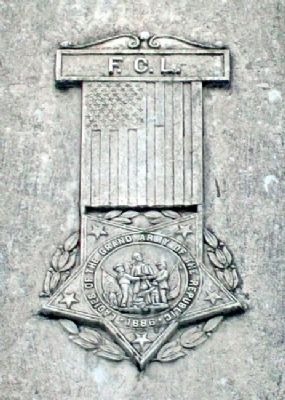 Civil and Spanish-American Wars Memorial LGAR Symbol image. Click for full size.