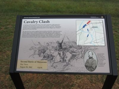 Cavalry Clash Marker image. Click for full size.