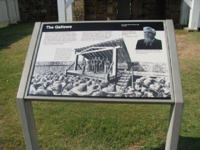 The Gallows Marker image. Click for full size.