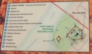 Welcome to Fort Smith map image. Click for full size.