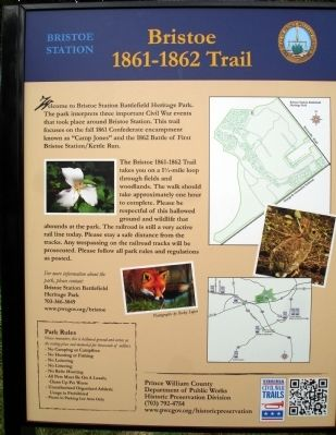 Bristoe Station Marker image. Click for full size.