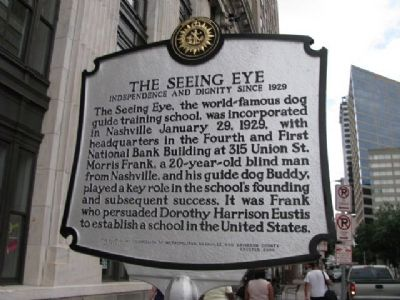 The Seeing Eye Marker image. Click for full size.