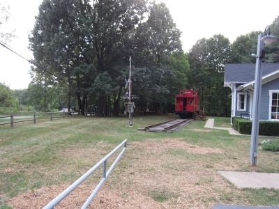 Grounds of the Fairfax Station Railroad Museum image. Click for full size.