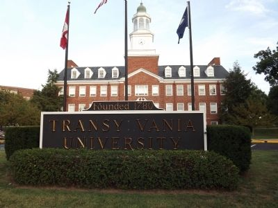 Transylvania University image. Click for full size.