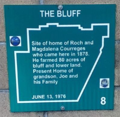 The Bluff Marker image. Click for full size.
