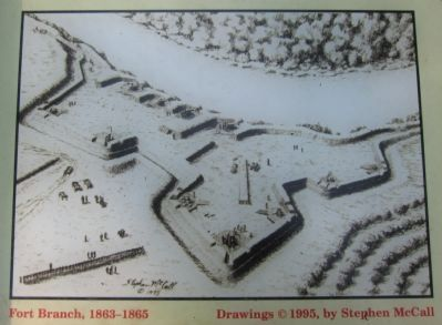Fort Branch, 1863-1865 image. Click for full size.