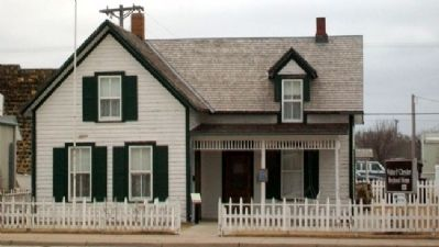 History of The Walter P. Chrysler Boyhood Home image. Click for full size.
