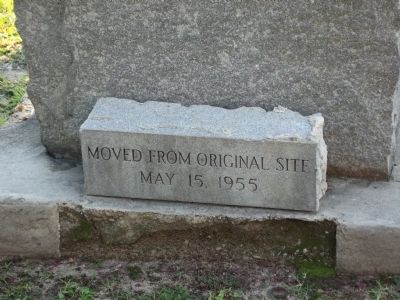Stone at the base of the marker image. Click for full size.