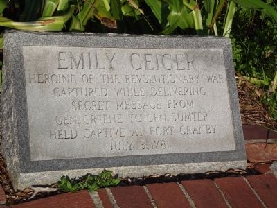 Emily Geiger Marker image. Click for full size.