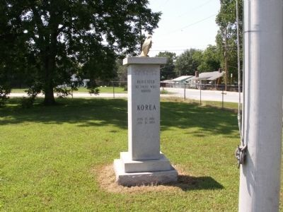 Jonesville Veterans Monument Marker image. Click for full size.