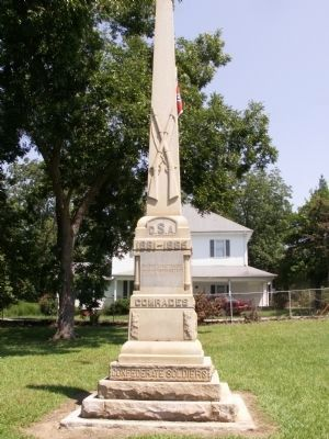 Jonesville Confederate Monument Marker image. Click for full size.