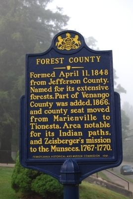 Forest County Marker image. Click for full size.