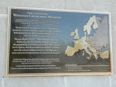 The National Winston Churchill Museum Marker image. Click for full size.