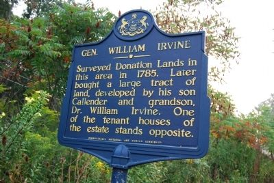 Gen. William Irvine Marker image. Click for full size.