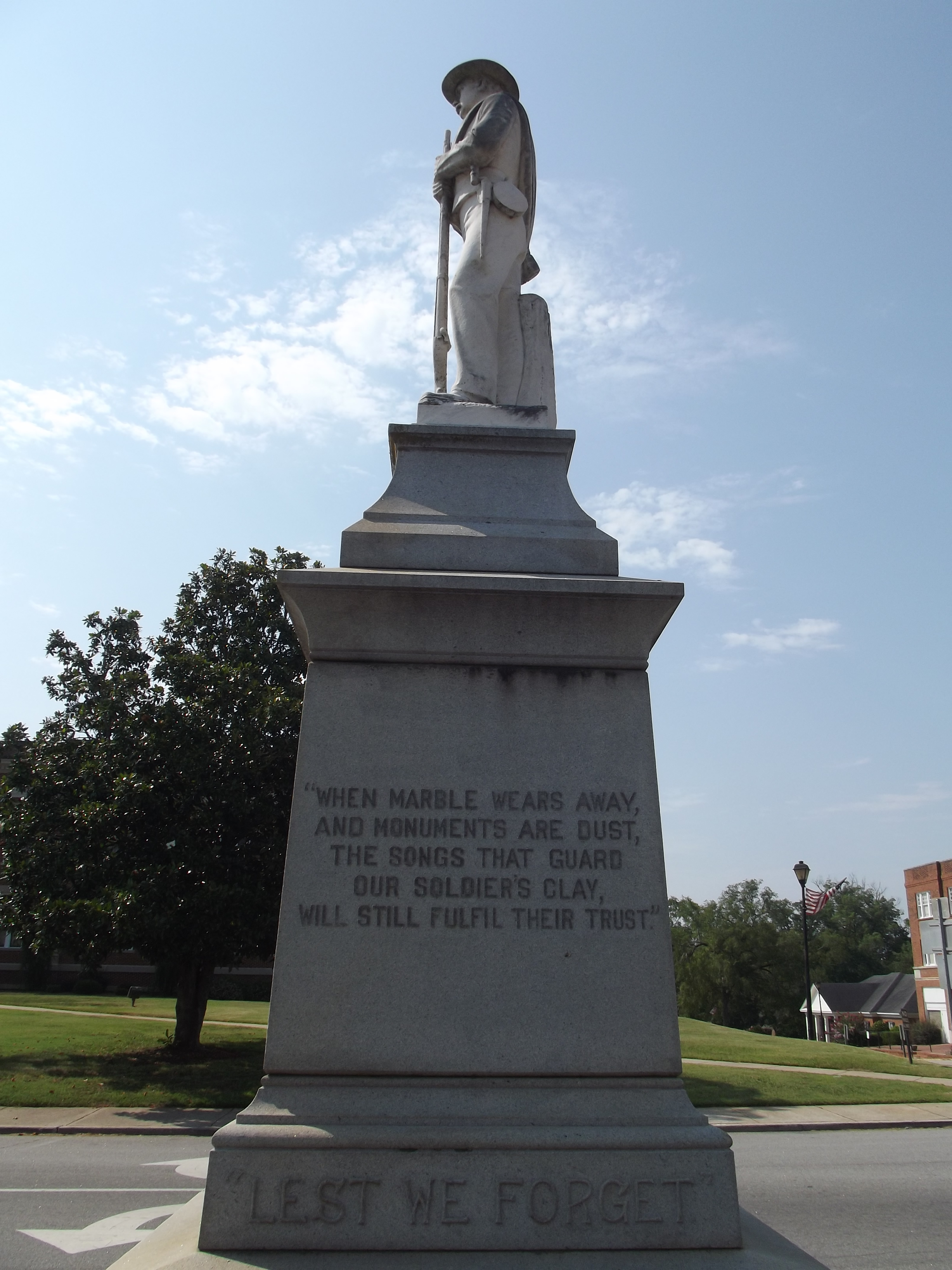 Putnam County Confederate Monument Marker