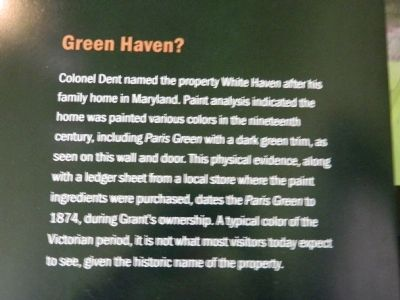 Green Haven? Marker image. Click for full size.