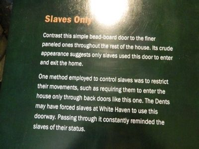 Slaves Only Marker image. Click for full size.
