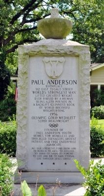 Paul Anderson Marker image. Click for full size.