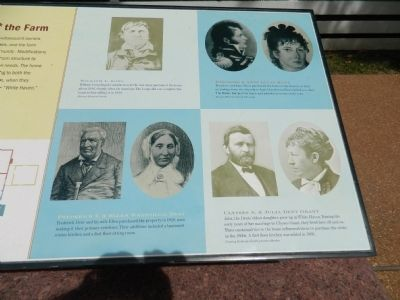 Early Owners of the Farm Marker image. Click for full size.
