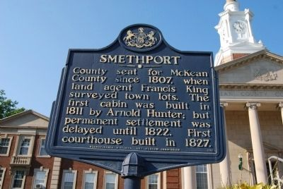 Smethport Marker image. Click for full size.