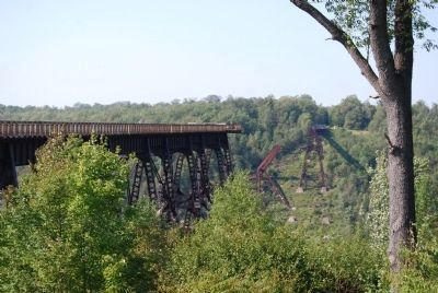 Kinzua Viaduct Skywalk image. Click for full size.