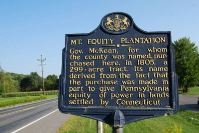 Mt. Equity Plantation Marker image. Click for full size.