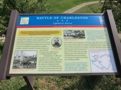 Battle of Charleston Marker image. Click for full size.