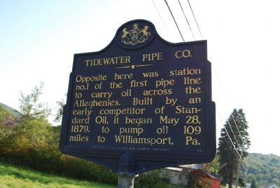 Tidewater Pipe Co. Marker image. Click for full size.