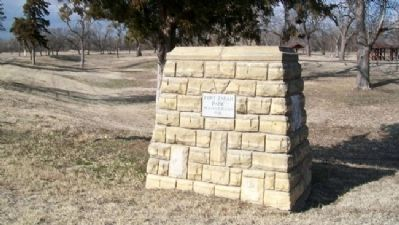 Site of Fort Zarah Marker image. Click for full size.