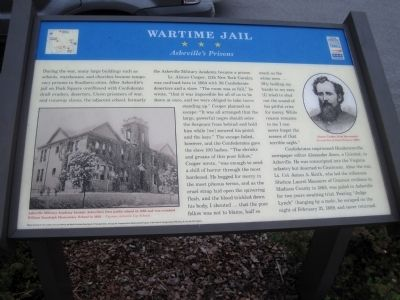 Wartime Jail Marker image. Click for full size.