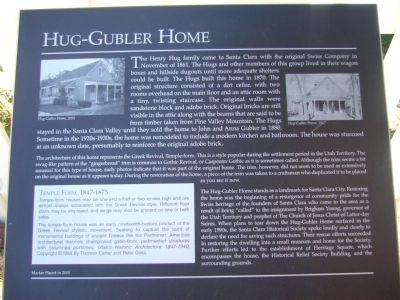 Hug-Gubler Home Marker image. Click for full size.