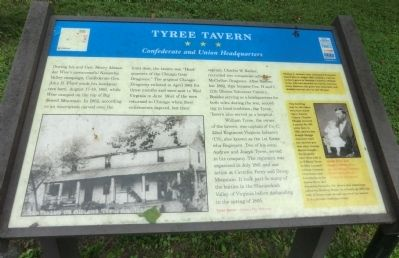 Tyree Tavern Marker image. Click for full size.
