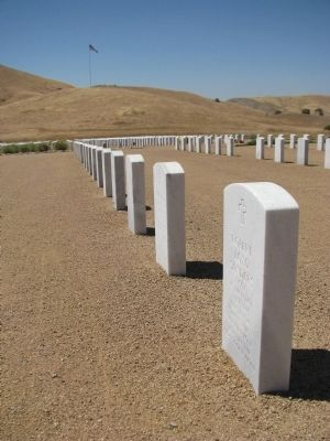 Bakersfield National Cemetery image. Click for full size.