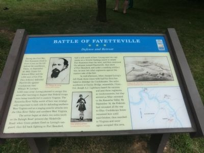 Battle of Fayetteville Marker image. Click for full size.