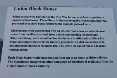 Union Block House Marker image. Click for full size.