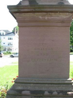Stockbridge Civil War Monument image. Click for full size.