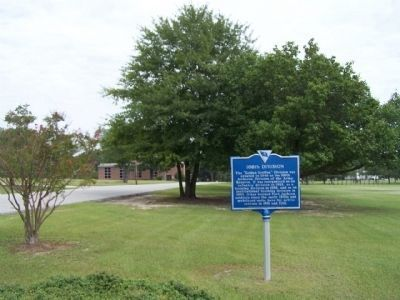108th Division Marker, looking north along Jackson Blvd, image. Click for full size.