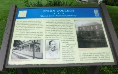 Union College Marker image. Click for full size.