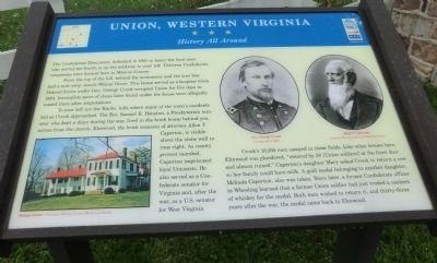 Union, Western Virginia Marker image. Click for full size.