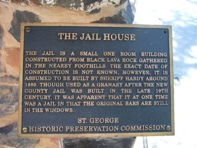 The Jail House Marker image. Click for full size.