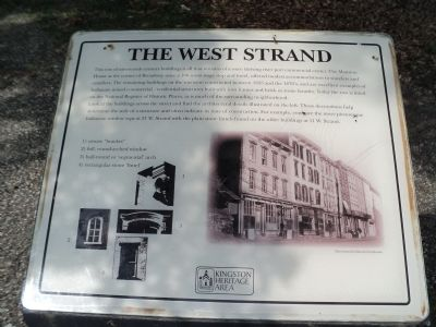 The West Strand Marker image. Click for full size.