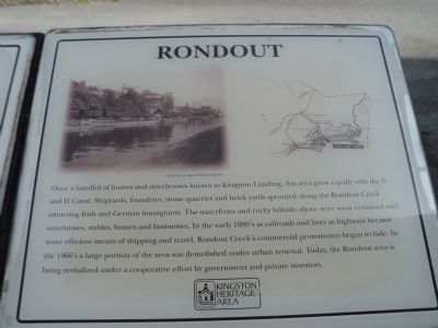 Rondout Marker image. Click for full size.