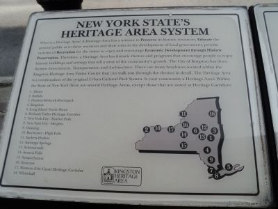 New York State's Heritage Area System Marker image. Click for full size.