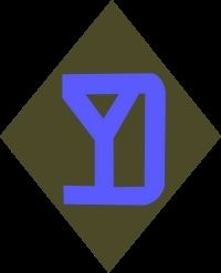 26th Inf Division Shoulder Patch image. Click for full size.